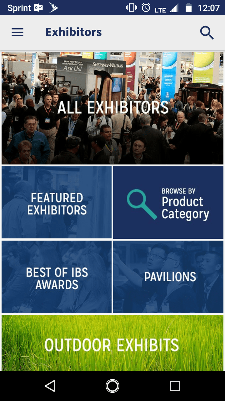 Cedia Exhibitor List Ibs Mobile App Nahb International Builders Show January 21 23