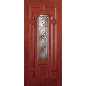 $669.99; 36  Cherry Mahogany Fiberglass Province Center Arch Single Prehung Right Hand Entry Door Fiberglass Entry  sc 1 st  Builders Surplus & Signamark Doors u2022 Builders Surplus pezcame.com
