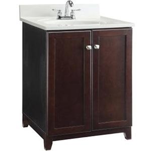 24 single shorewood espresso furniture style vanity 18999 builders surplus in louisville kentucky