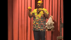 Architect Eric Kigada talks at a past TedX Event in Nairobi