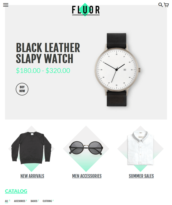 colors responsive shopify themes