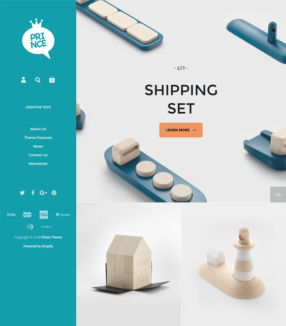 kingdom responsive shopify themes