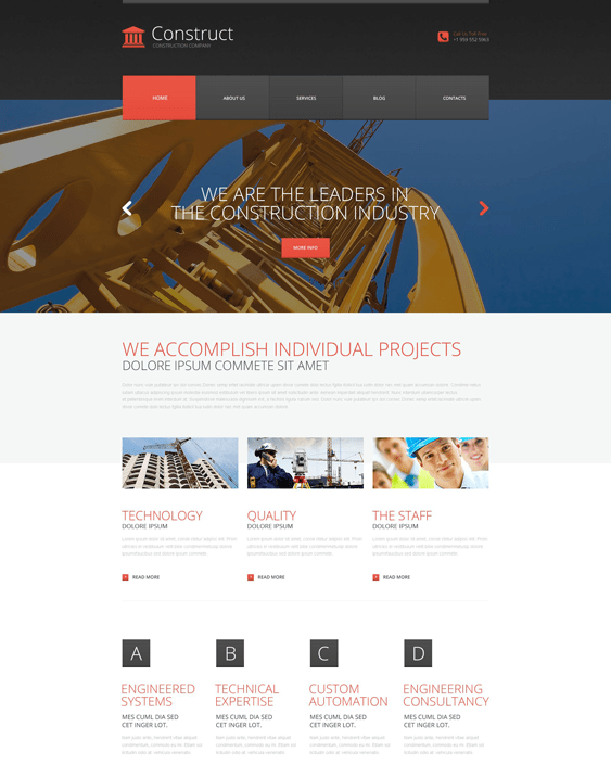 construct construction companies building contractors wordpress themes