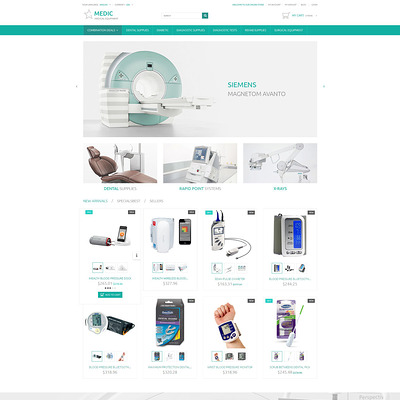 Medical Equipment PrestaShop Theme (PrestaShop theme for health and medical stores) Item Picture