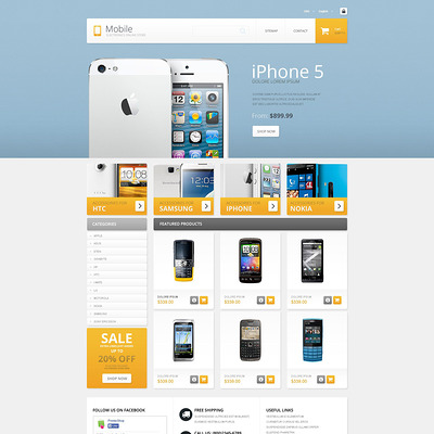 Mobile (PrestaShop theme for electronics stores) Item Picture