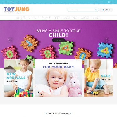 ToyJung (PrestaShop theme for toy stores) Item Picture