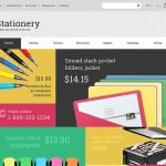 best opencart themes stationery business cards feature