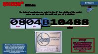 Rheem HVAC age | Building Intelligence Center