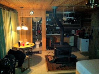 Interior of cabin