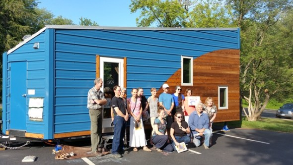 Meetup at the Proof is Possible tiny house #tinylab