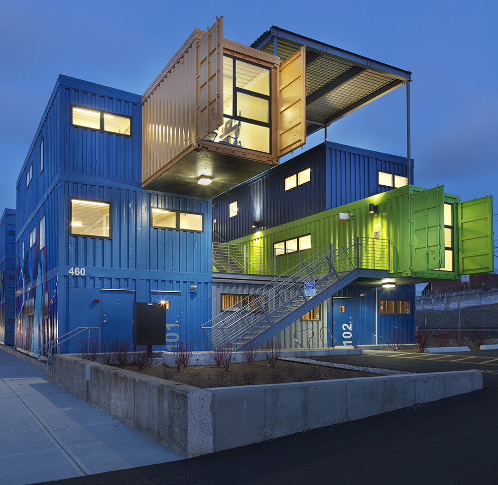 companies that build shipping container homes