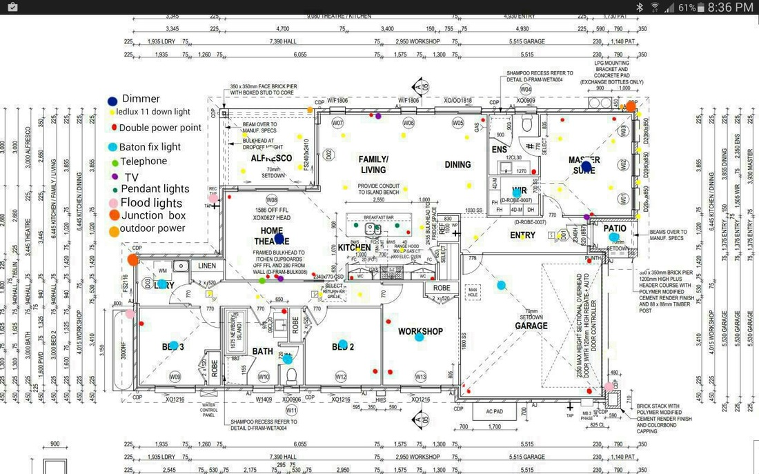 Electrical Plan Of A Building Wiring Diagram