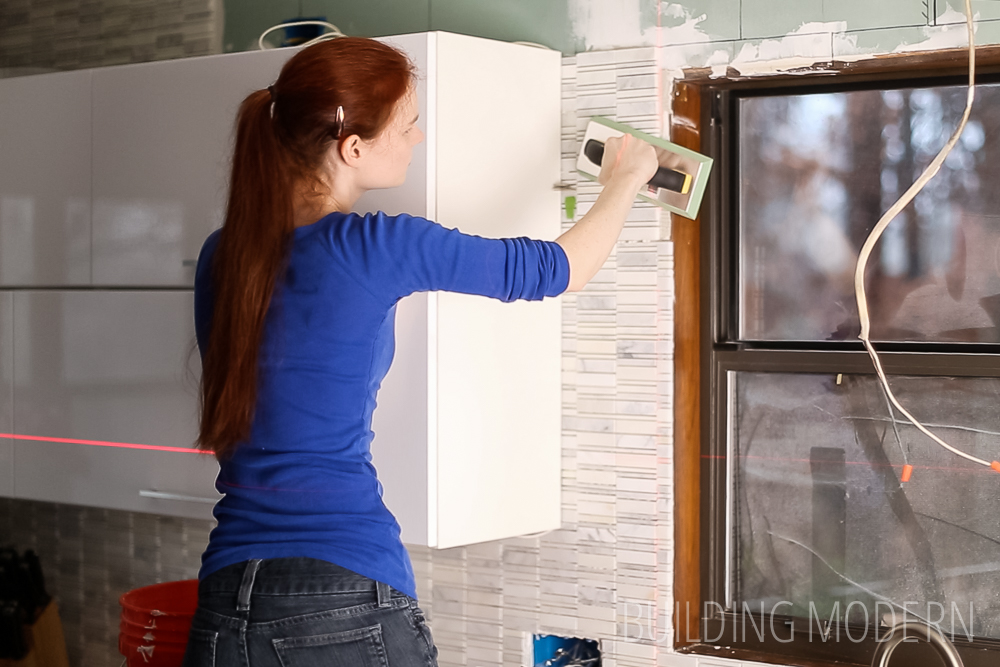 install carrara marble mosaic tile backsplash part kitchen tile backsplash