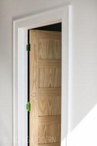 A new door & trim!