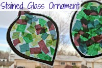 Stained Glass Ornament - Preschool Christmas Craft Idea ...