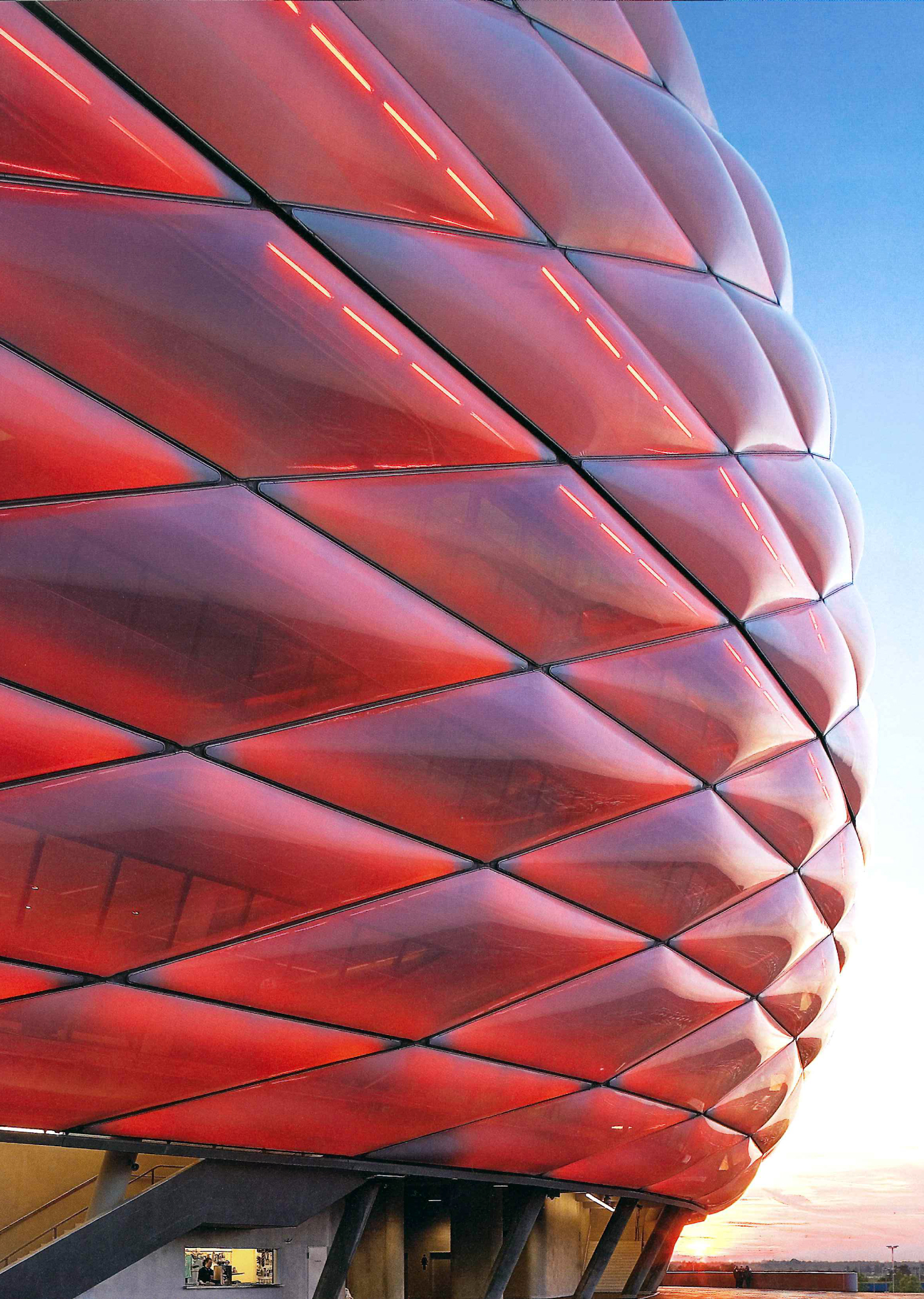 Lit Metal But Allianz Arena | Buildingskins's Blog