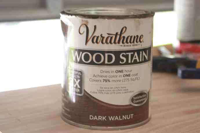 Varathane Dark Walnut - Build It Craft It Love It