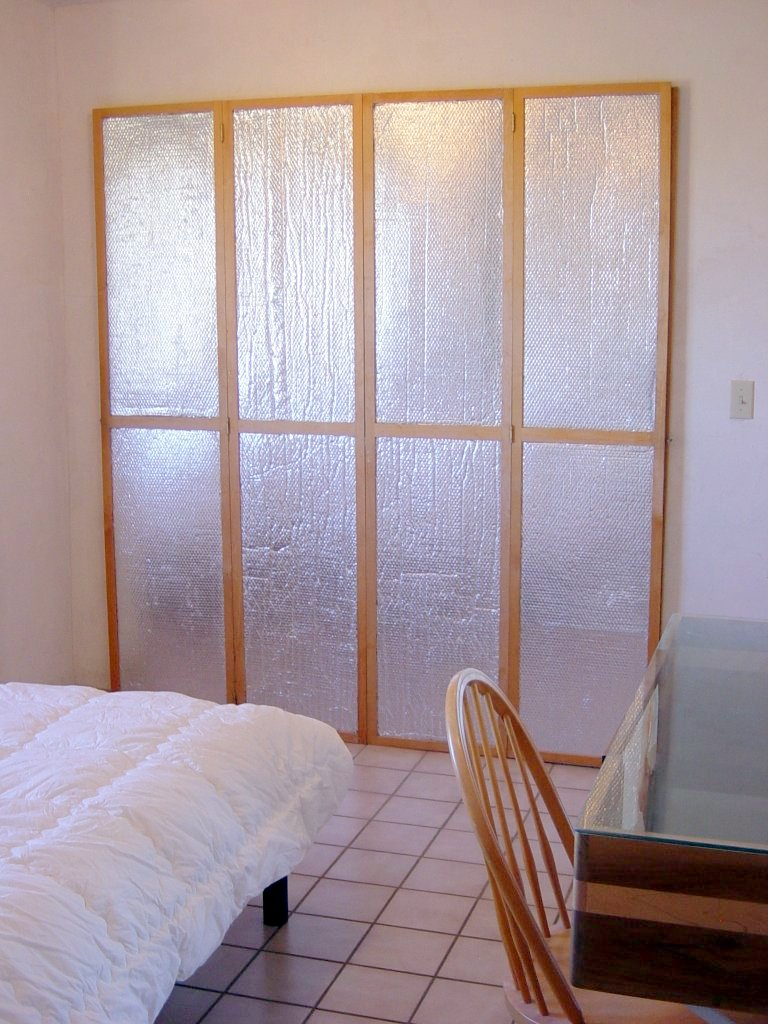 How To Insulate Windows Insulating Window Or Door Shutters Using Astrofoil Reflective