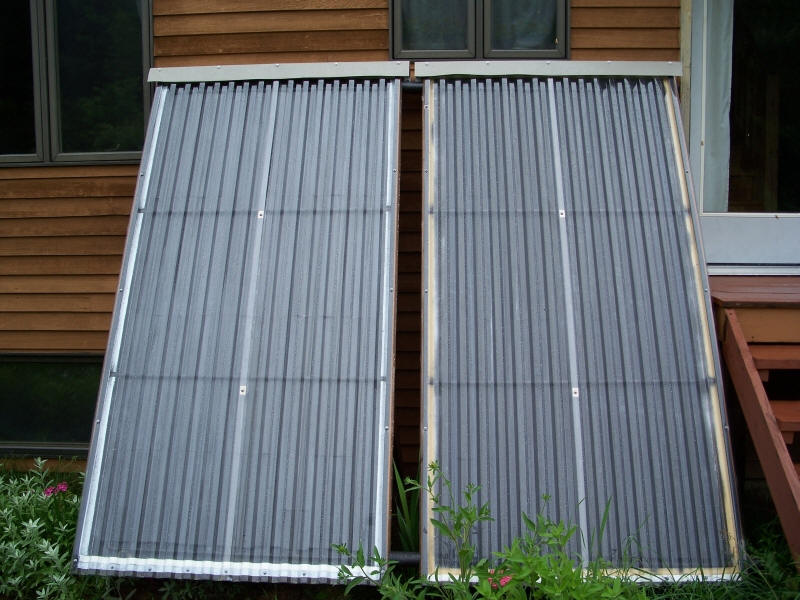 Woodsy 39 S 1k Diy Solar Water Heating System