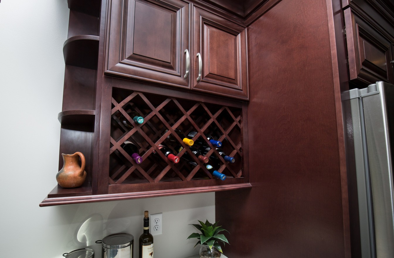 Wine Rack Built Into Wall Colonie Kitchen Remodeling Contractor For Latham Renovation