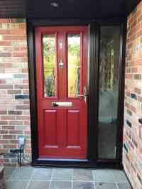 Red Composite Doors - Buildmydoor