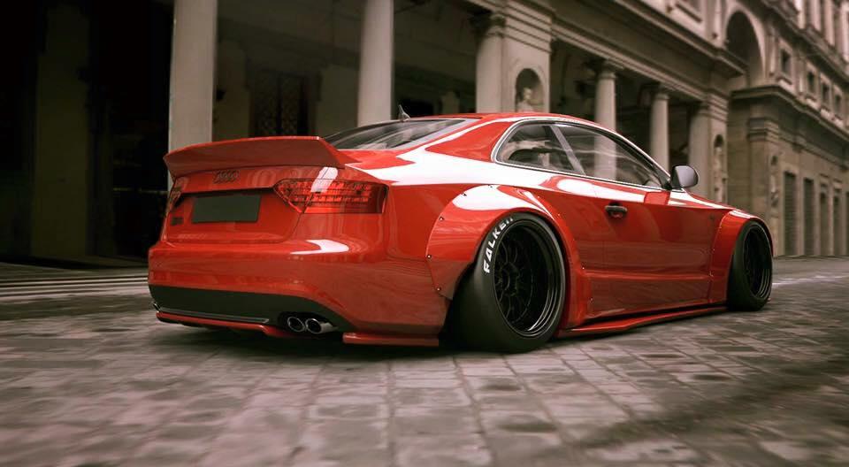 S4 Car Wallpaper Liberty Walk Audi A5 S5 Rs5 Build Race Party