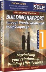 Building Rapport with Words Vocals and Body Language