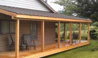 How To Build An Awning Over A Deck. Awnings For Decks HGTV ...