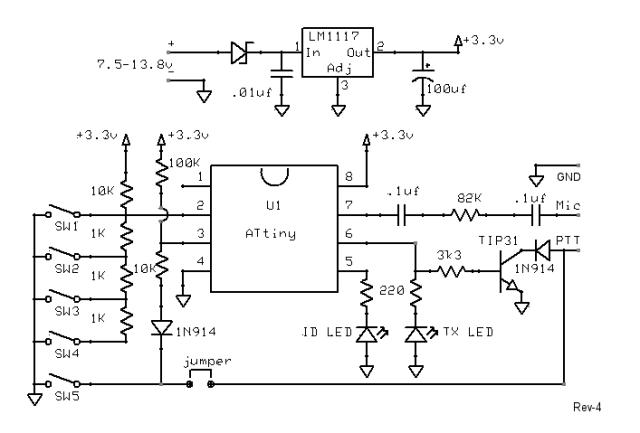 ham radio wiring schematic