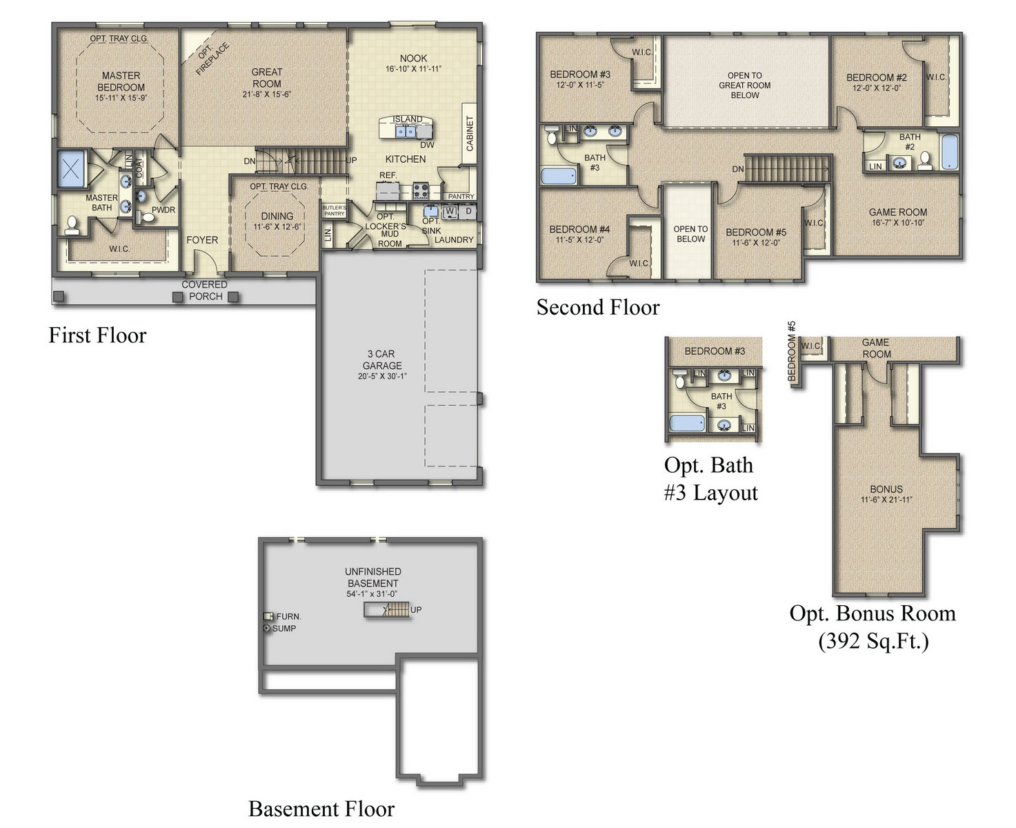 Housing Floor Plans Layout Bristol Ii All Plans Are Fully Customizable Build