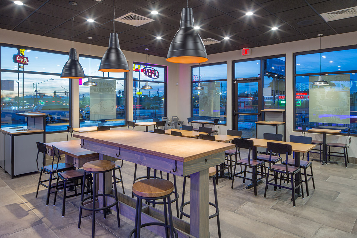 Bell Design Taco Bell Fremont Reflects New Design Prototype; Metal