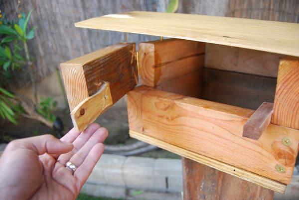 open-birdhouse-door