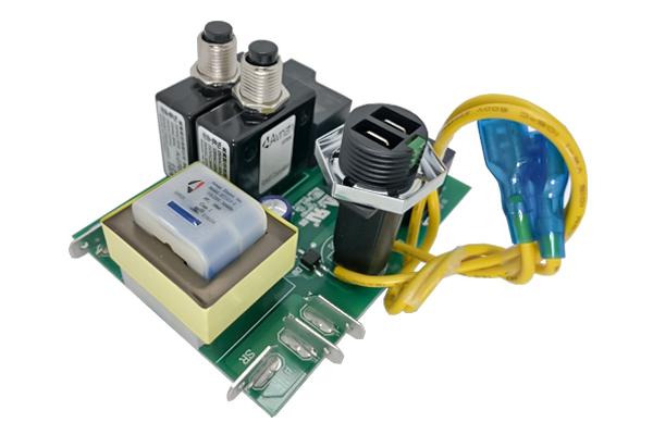 Central Vacuum Circuit Board, Relay, Transformer