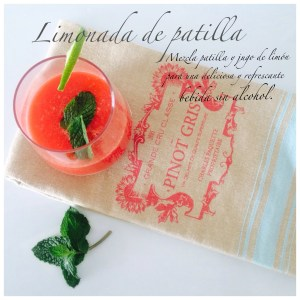 "Para celebrar: ""Watermelon Lemonade"""
