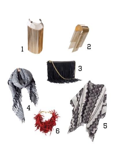 accesorios con flecos