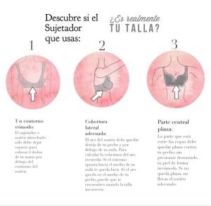 Tips para descubrir tu talla perfecta de sujetador o sostén