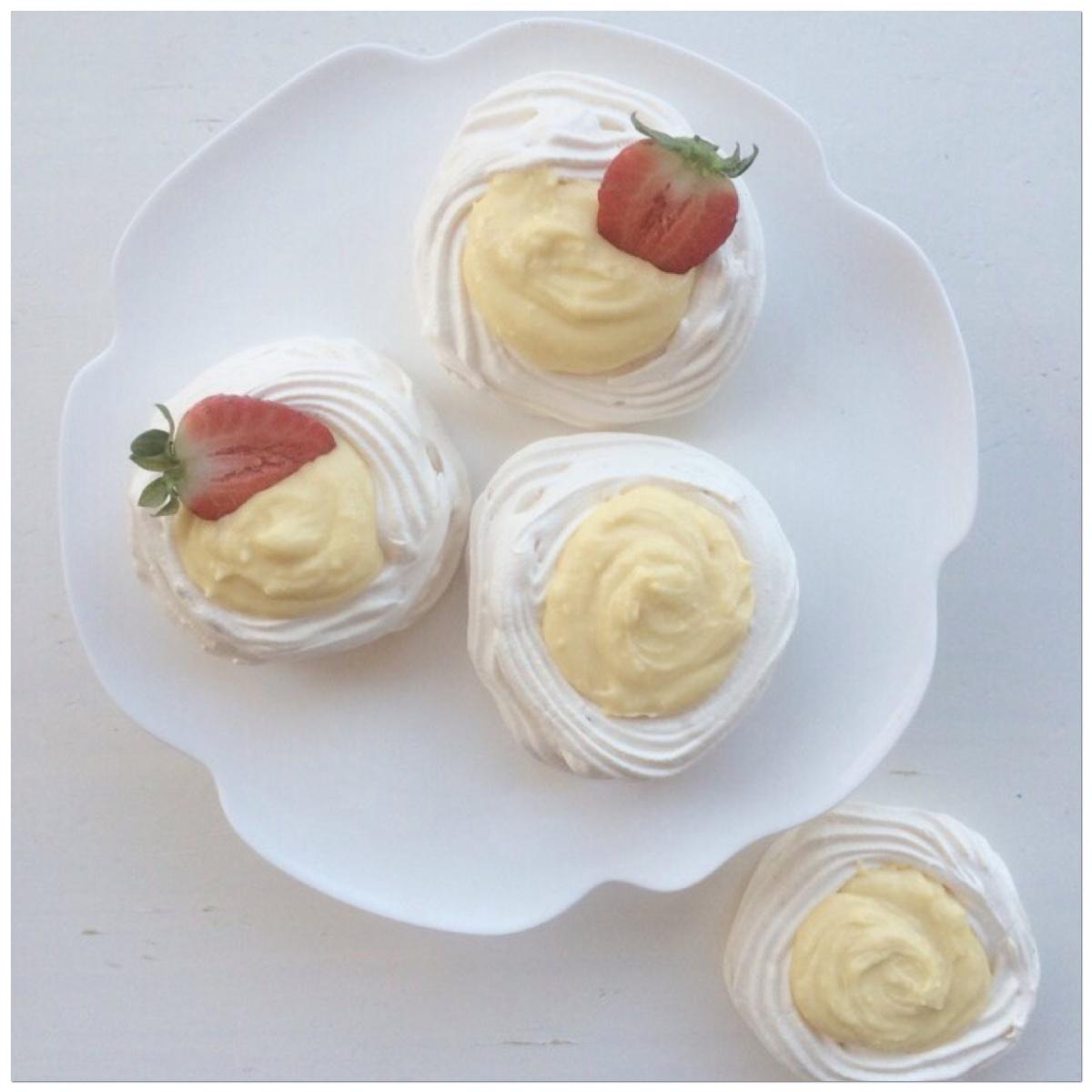 Conchas de merengue
