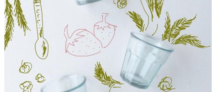 A nuestra salud: Batido de fresa y avena