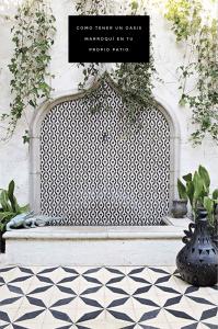 Decoración: Patios con estilo marroquí