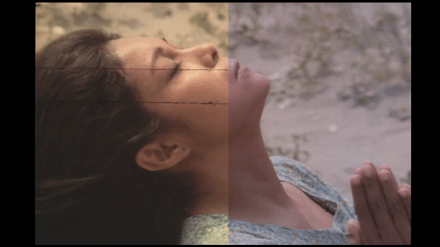"""Left side of this photo screengrab from """"Himala"""" is the original version, right side is the restored version. """"Himala"""" was initially released for Metro Film Festival in 1982. An iconic  movie for Nora Aunor, it continues to win awards and acclaim. In 2008, the film won the Viewer's Choice Award for Best Asia-Pacific Film of All Time in the CNN Asia Pacific Screen Awards. (Photo from ABS-CBN Social Media Newsroom)"""