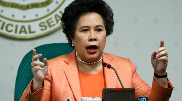 Miriam Santiago, groups bewail SC decision upholding basing agreement