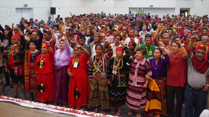 Indigenous peoples, Moros launch national minority alliance