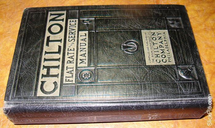 1936 37 38 39 40 41 42 Chilton Service Parts Manual Ford Pontiac