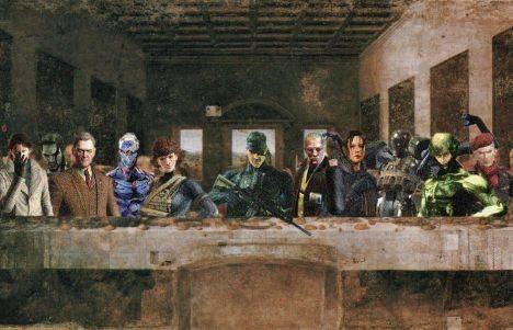 Metal Gear Solid Iphone Wallpaper Metal Gear Jesus Religious Parallels In The Metal Gear