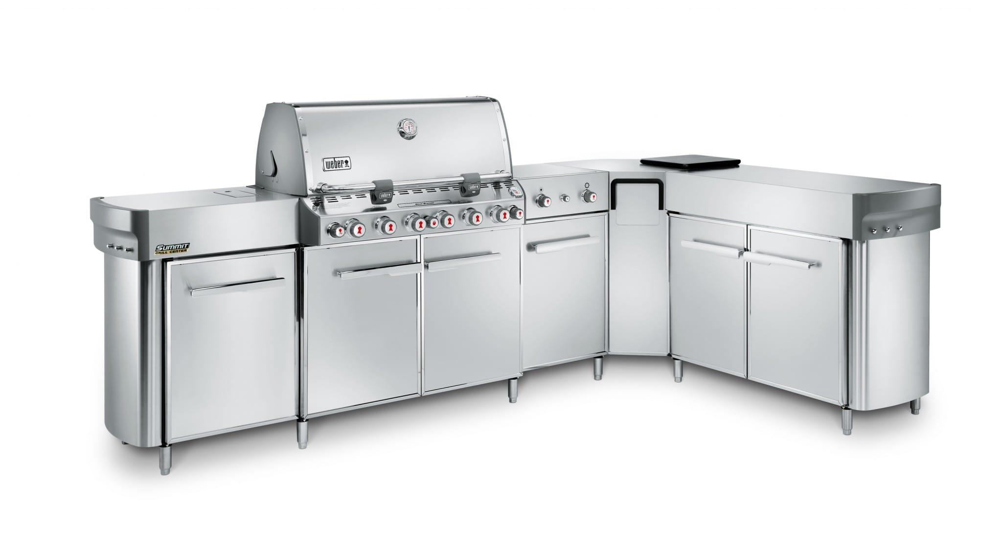 Outdoor Küche Für Weber Grill : Outdoorküche mit weber spirit e grillforum und bbq