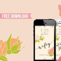 Happy Friday! Here's Some Free Wifey iPhone Backgrounds