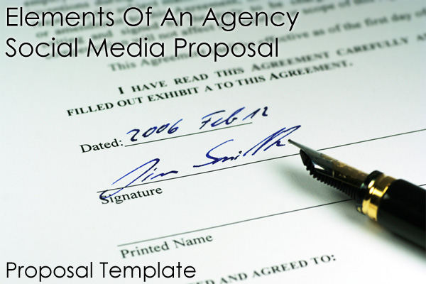 Important Elements Of An Agency Social Media Proposal \u2013 Part 5 The