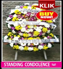 standing condolence new