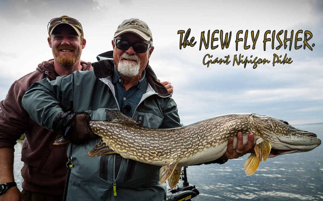 "THE NEW FLY FISHER T.V. ""Giant Nipigon Pike."" ep1"