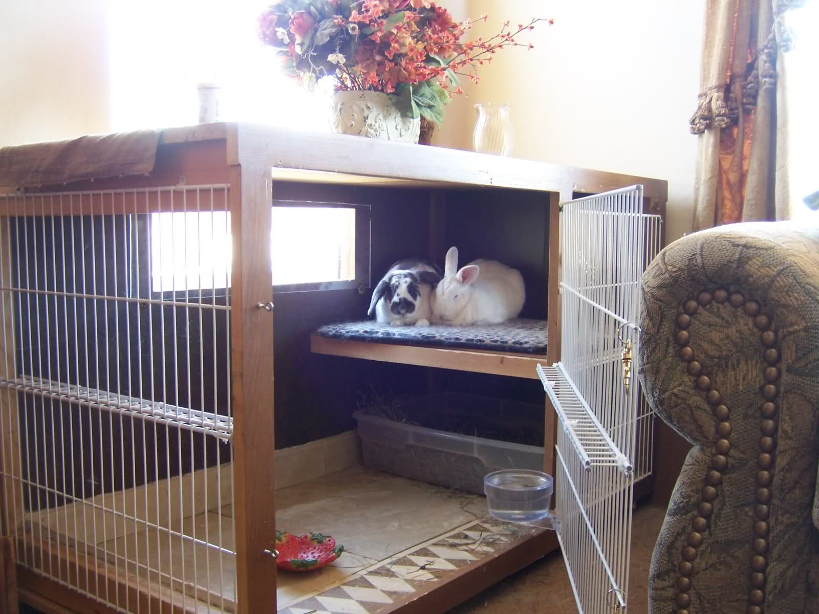 Diy Cage For Rabbit Indoor Rabbit Housing Bunny Approved House Rabbit Toys